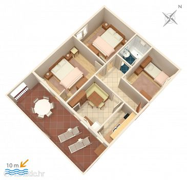 Apartment A-4288-a - Apartments Vinišće (Trogir) - 4288