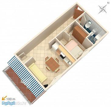 Apartment A-4293-a - Apartments Rastići (Čiovo) - 4293