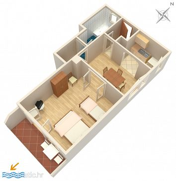 Apartment A-4295-b - Apartments Tisno (Murter) - 4295