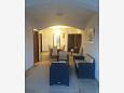 Sveti Filip i Jakov, Dining room u smještaju tipa apartment, dostupna klima i WIFI.
