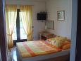 Sveti Filip i Jakov, Bedroom u smještaju tipa studio-apartment, WIFI.