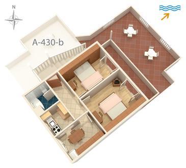 Apartment A-430-a - Apartments Vrbnik (Krk) - 430