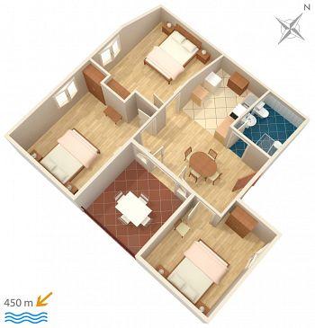 Apartment A-4303-a - Apartments Biograd na Moru (Biograd) - 4303