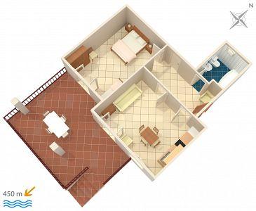 Apartament A-4303-b - Apartamenty Biograd na Moru (Biograd) - 4303