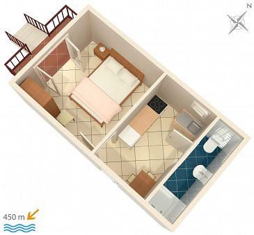 Studio AS-4303-a - Apartamenty Biograd na Moru (Biograd) - 4303