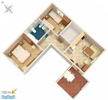 Apartament A-4313-a - Apartamenty Rogoznica (Rogoznica) - 4313