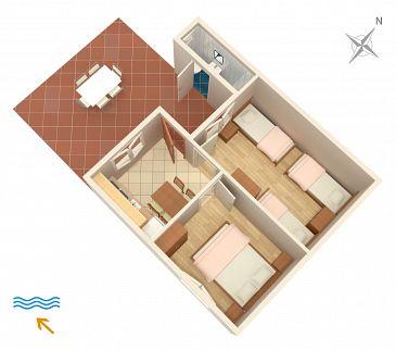 Apartament A-433-b - Apartamenty Lavdara (Dugi otok - Lavdara) - 433