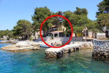 Property Lavdara (Dugi otok) - Accommodation 433 - Apartments near sea.
