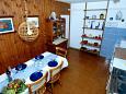Podgora, Dining room u smještaju tipa house, WIFI.
