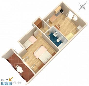 Apartment A-4332-b - Apartments Podgora (Makarska) - 4332