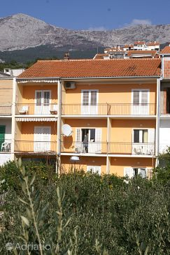 Podgora, Makarska, Property 4332 - Apartments blizu mora with pebble beach.
