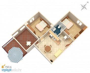 Apartment A-4339-a - Apartments Zavalatica (Korčula) - 4339