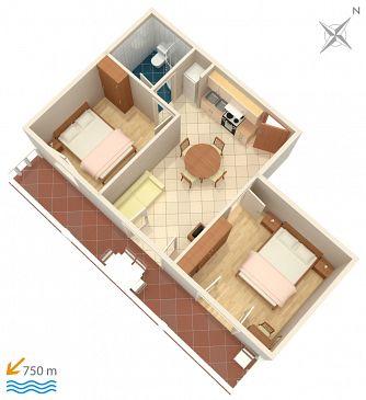 Apartment A-4339-b - Apartments Zavalatica (Korčula) - 4339