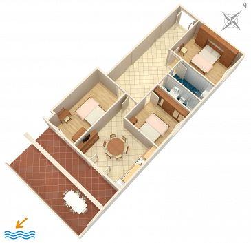 Apartament A-4339-d - Apartamenty Zavalatica (Korčula) - 4339