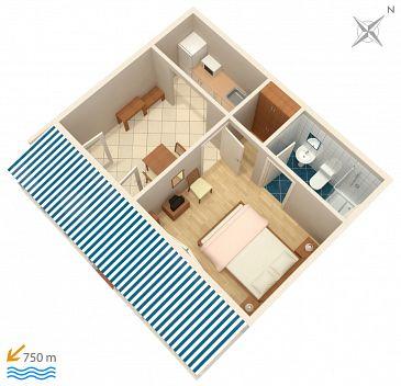 Apartment A-4339-f - Apartments Zavalatica (Korčula) - 4339