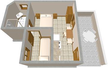 Studio AS-435-b - Apartamenty Lavdara (Dugi otok - Lavdara) - 435