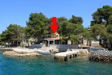 Property Lavdara (Dugi otok) - Accommodation 435 - Apartments near sea.