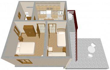Apartment A-436-a - Apartments Veli Rat (Dugi otok) - 436
