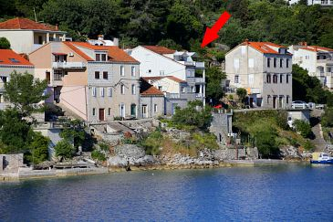 Račišće, Korčula, Property 4360 - Apartments and Rooms blizu mora.
