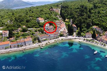 Property Račišće (Korčula) - Accommodation 4362 - Apartments near sea with pebble beach.