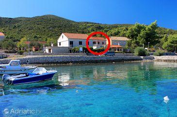 Property Kneža (Korčula) - Accommodation 4371 - Apartments near sea with pebble beach.