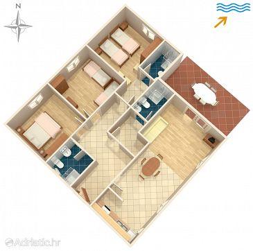 Apartment A-4407-a - Apartments Korčula (Korčula) - 4407