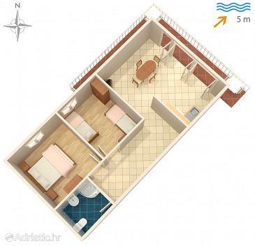 Apartment A-4407-b - Apartments Korčula (Korčula) - 4407