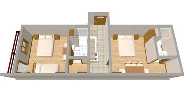 Apartment A-441-b - Apartments and Rooms Luka (Dugi otok) - 441