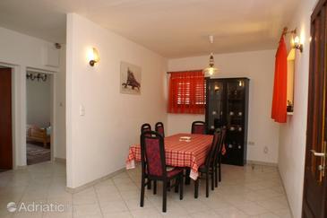 Zavalatica, Dining room u smještaju tipa apartment, WIFI.