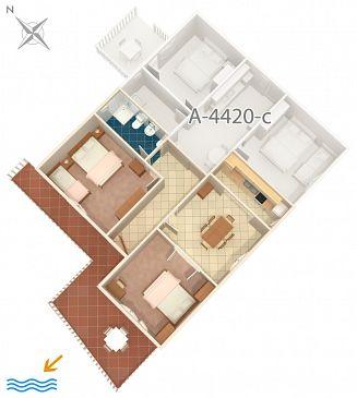 Apartment A-4420-b - Apartments Zavalatica (Korčula) - 4420