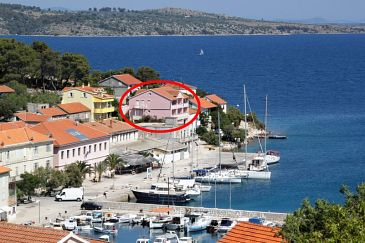 Property Sali (Dugi otok) - Accommodation 443 - Apartments near sea.
