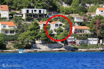 Property Lumbarda (Korčula) - Accommodation 4430 - Apartments near sea.