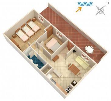 Apartment A-4437-a - Apartments Lumbarda (Korčula) - 4437