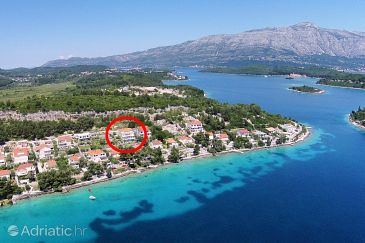Property Lumbarda (Korčula) - Accommodation 4440 - Apartments near sea.