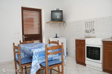Žrnovska Banja, Dining room u smještaju tipa apartment, dopusteni kucni ljubimci i WIFI.