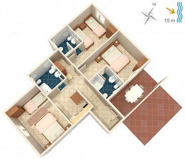 Apartament A-4451-d - Apartamenty Korčula (Korčula) - 4451