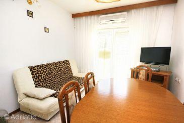 Uvala Vrbovica, Living room u smještaju tipa apartment, dostupna klima, dopusteni kucni ljubimci i WIFI.