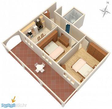Apartment A-4453-c - Apartments Zavalatica (Korčula) - 4453