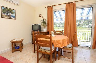 Lumbarda, Dining room u smještaju tipa apartment, dostupna klima.