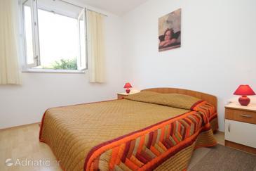 Uvala Soline, Bedroom u smještaju tipa room, dostupna klima i WIFI.