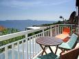 Balcony - Studio flat AS-4482-b - Apartments Zavalatica (Korčula) - 4482