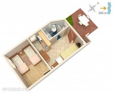 Apartment A-449-a - Apartments Žman (Dugi otok) - 449