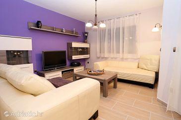 Žrnovska Banja, Living room u smještaju tipa apartment, dopusteni kucni ljubimci i WIFI.