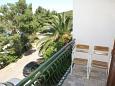 Lovište, Balcony u smještaju tipa room, s pogledom na more, dopusteni kucni ljubimci i WIFI.