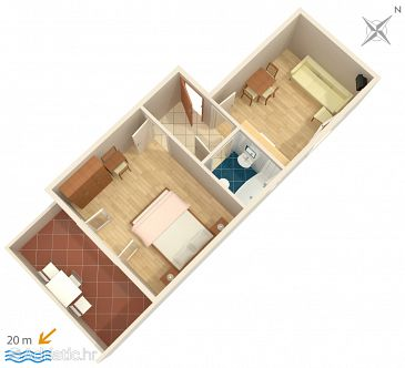 Apartment A-4525-a - Apartments Orebić (Pelješac) - 4525