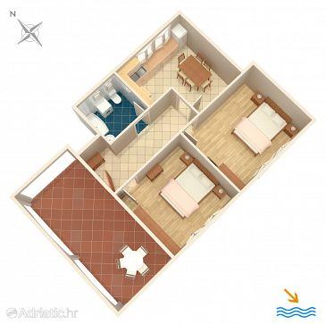 Apartment A-4537-b - Apartments Orebić (Pelješac) - 4537
