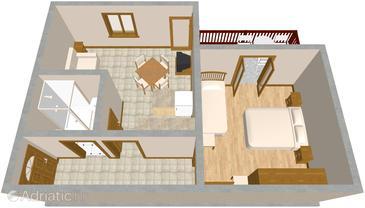 Apartment A-454-a - Apartments Sali (Dugi otok) - 454