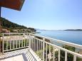 Kučište - Perna, Balcony 1 u smještaju tipa apartment, s pogledom na more, dopusteni kucni ljubimci i WIFI.