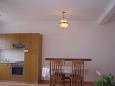 Kučište - Perna, Dining room u smještaju tipa apartment, WIFI.
