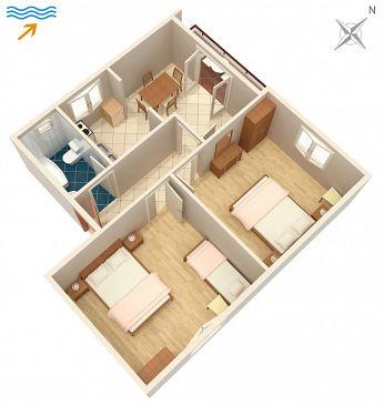 Apartament A-4550-a - Kwatery Drače (Pelješac) - 4550